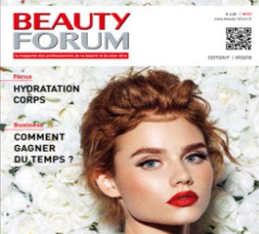 Soin minceur et vergetures avec le Stretching Cellulaire. Article Beauty Forum Magazine Edition F 09/18