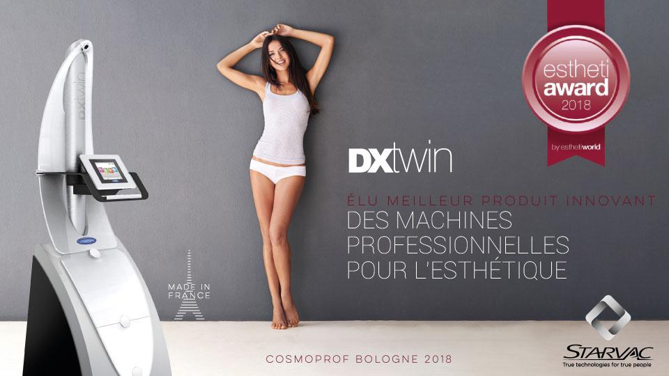 Le DXtwin remporte le prix de l'innovation en Italie